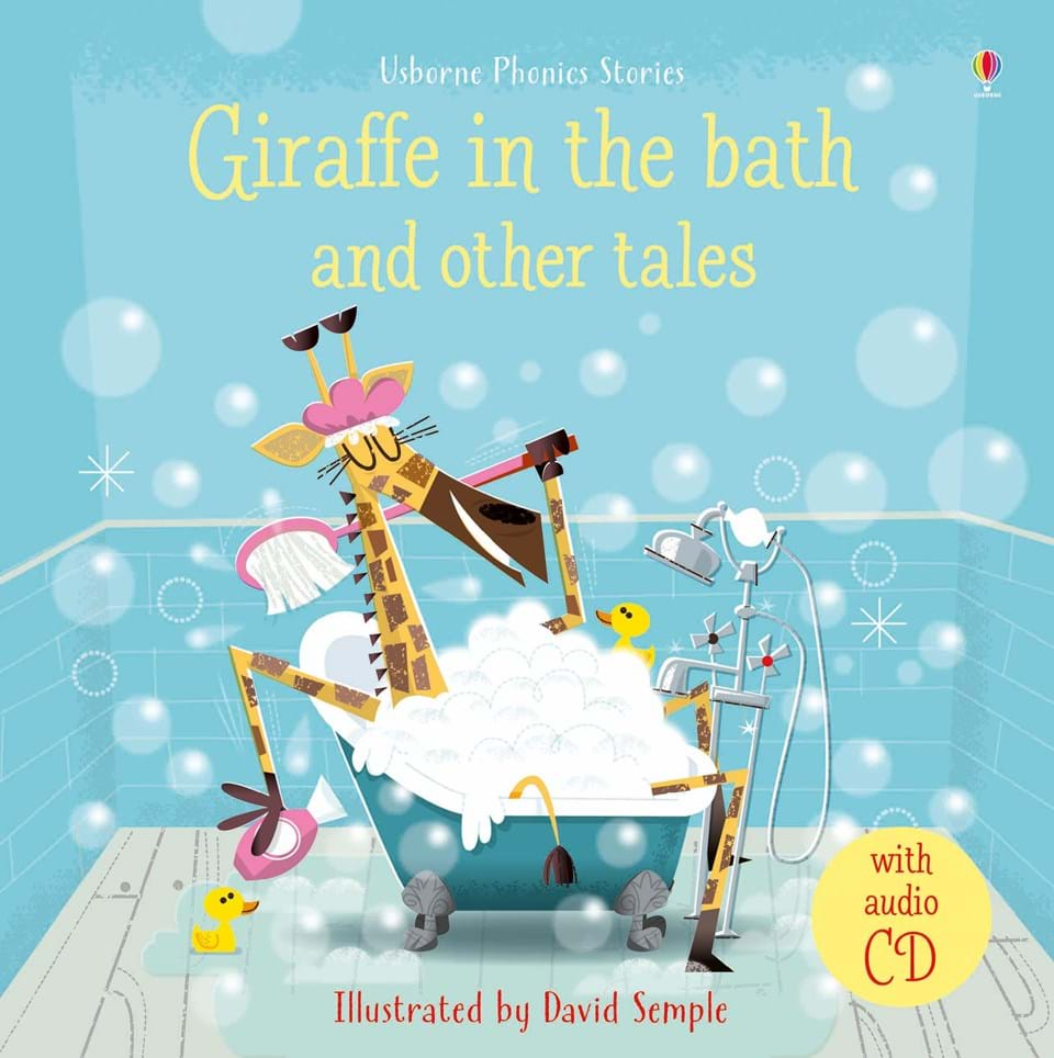 """Giraffe in the bath and other tales with CD"""" at Usborne Books at ..."""