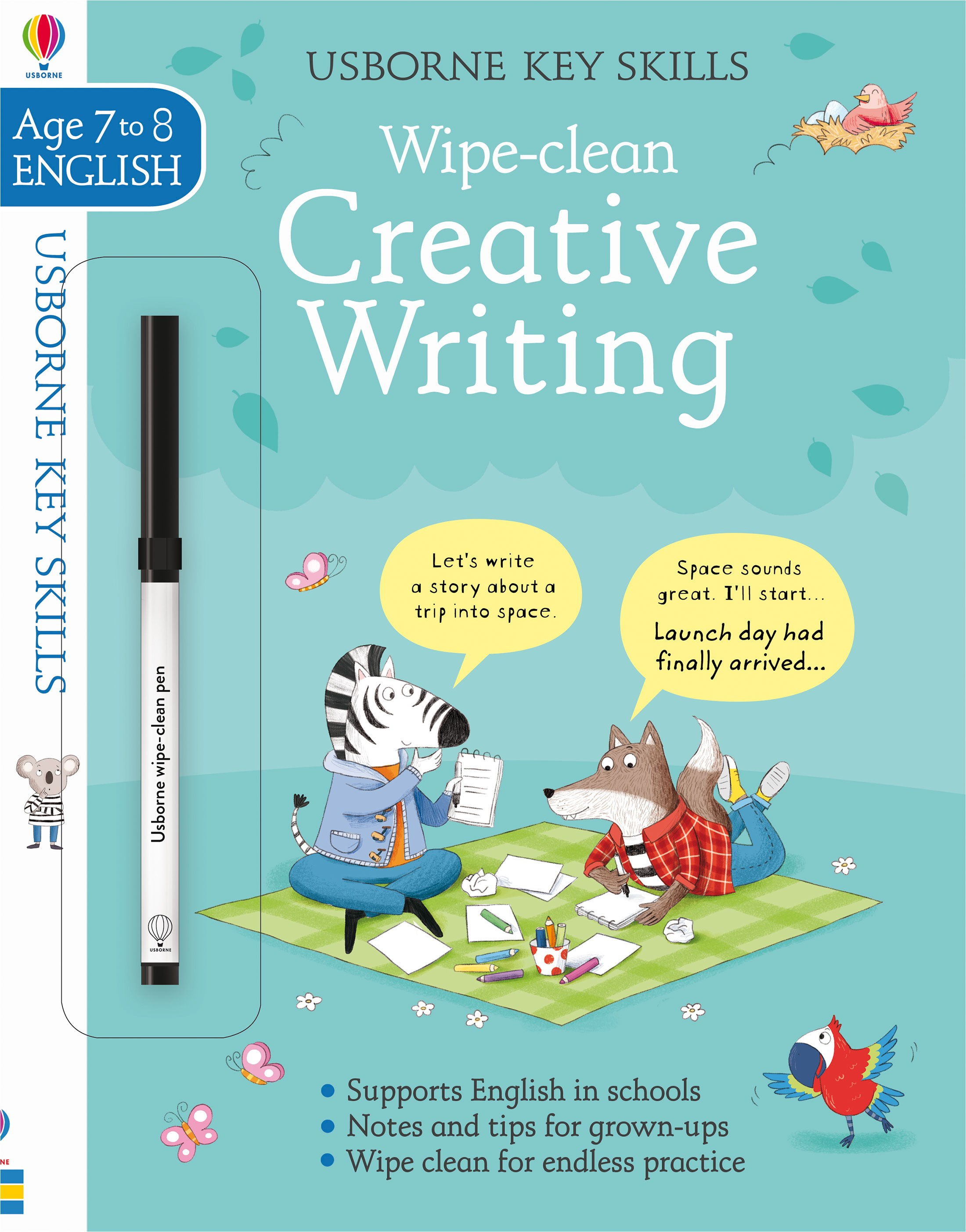 Creative Writing For 7+ And 8+