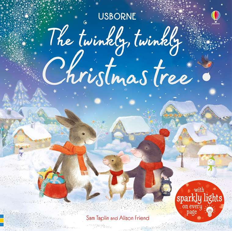 """Usborne Christmas 2019 The twinkly twinkly Christmas tree"""" at Usborne Children's Books"""