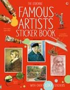 Famous artists sticker book