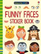 Funny faces sticker book