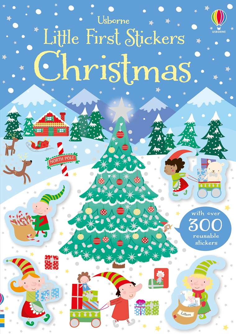 A Christmas For The Books.Little First Stickers Christmas At Usborne Children S Books