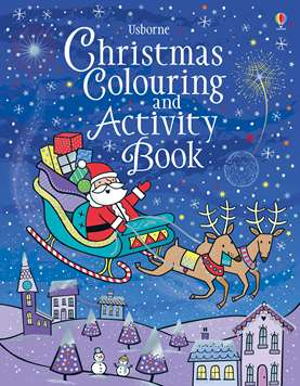 Little First Stickers Christmas Colouring And Activity Book