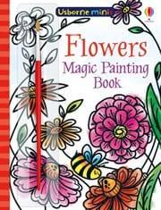 Magic painting flowers