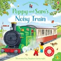 Poppy and Sam's noisy train
