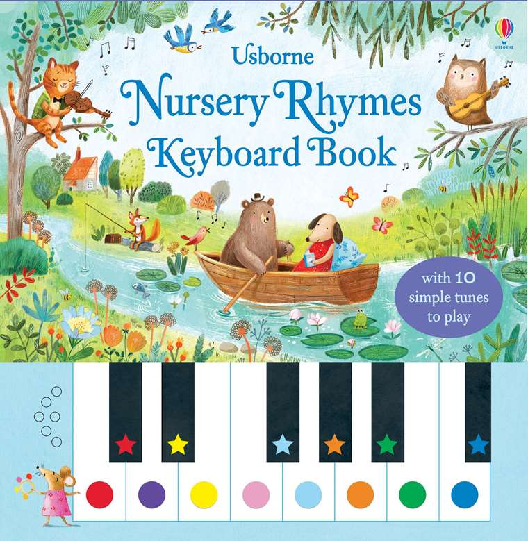 Nursery Rhymes Keyboard Book At