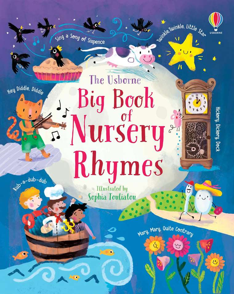 Book Of Nursery Rhymes At Usborne