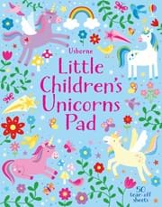 Little Children's Unicorns Pad