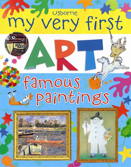 "Children S Book Cover Art For Sale ~ ""my very first art famous paintings at usborne children s"