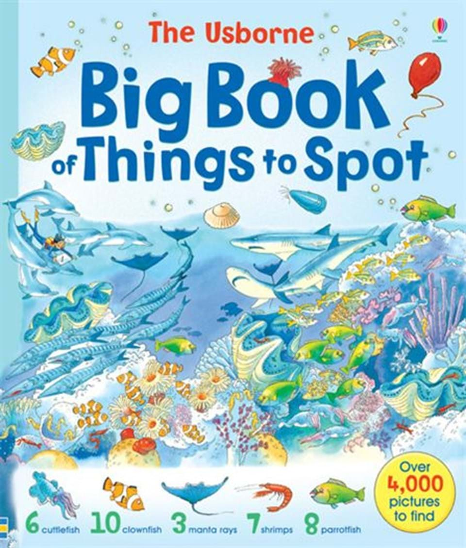 """""""Big book of things to spot"""" at Usborne Books at Home"""