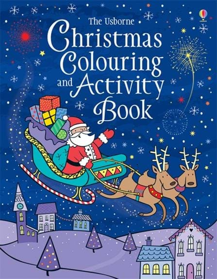 christmas colouring and activity book - Usborne Coloring Books