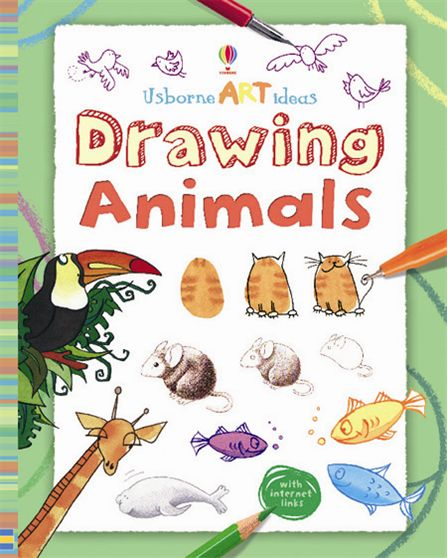 "Book Cover Drawing Easy : ""drawing animals at usborne books home"