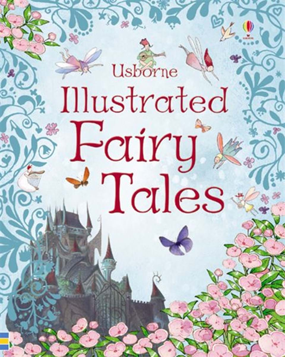 "Illustrated Book Cover Version ~ ""illustrated fairy tales at usborne books home"
