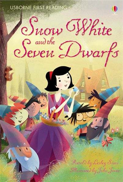 "Snow White Book Cover : ""snow white and the seven dwarfs at usborne books home"