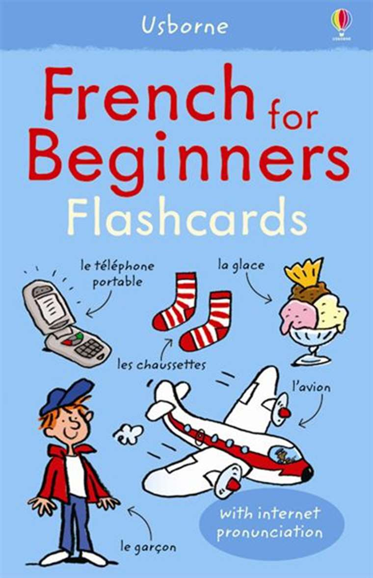 """French for beginners flashcards"""" at Usborne Children's Books"""
