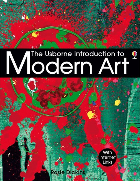 """Modern Book Cover Uk : """"introduction to modern art at usborne books home"""