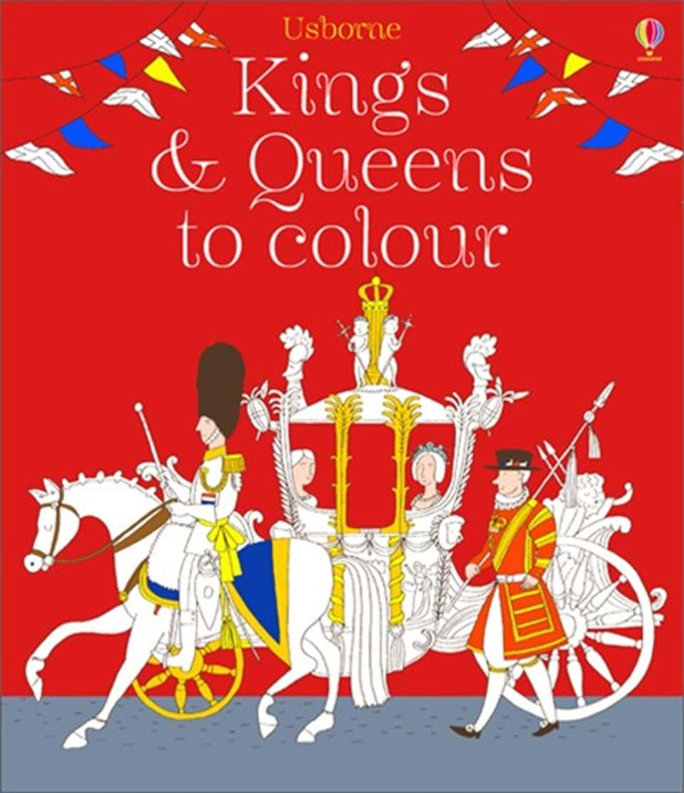 Colouring in kings and queens - Kings And Queens To Colour