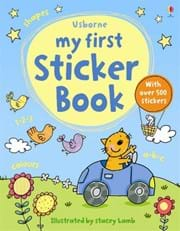 My first sticker book