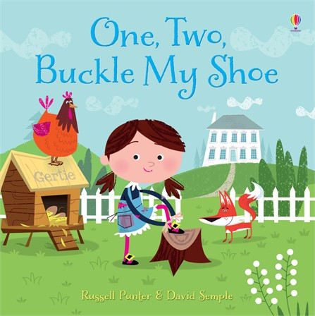 One Two Buckle My Shoe Children S Book
