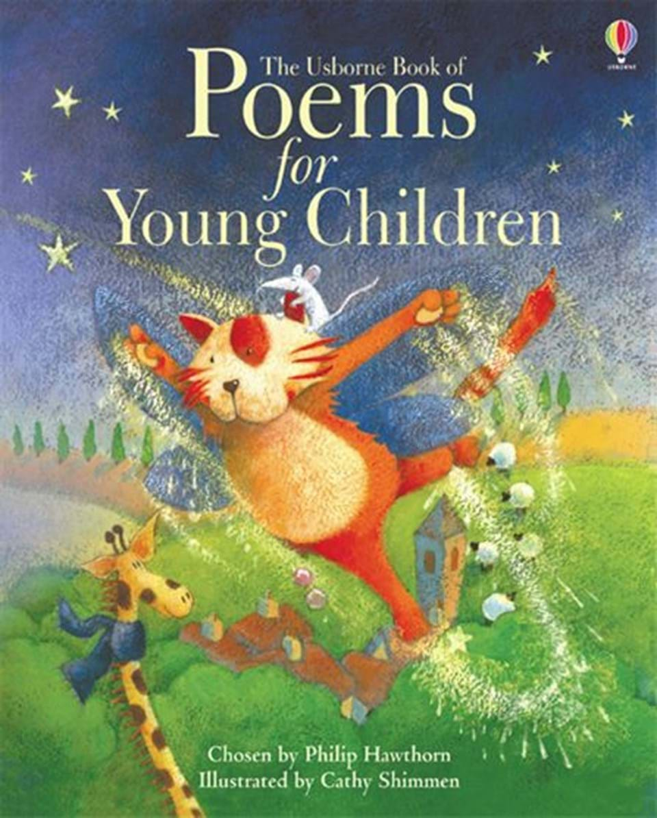 """Poetry Book Cover Zip : """"little book of poems for young children at usborne books"""