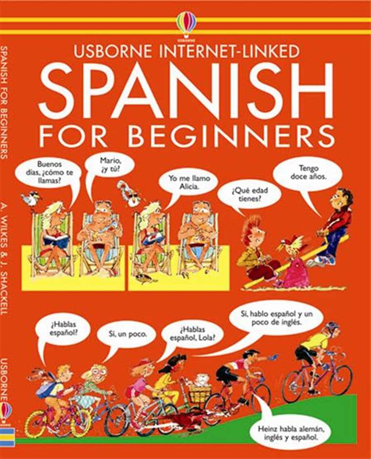 "Spanish for Beginners"" at Usborne Children's Books"