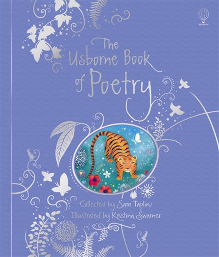 "Poetry Book Cover Uk : ""the usborne book of poetry luxury clothbound edition"
