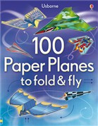 '100 paper planes to fold and fly' book cover