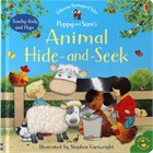 'Poppy and Sam's animal hide and seek' book cover