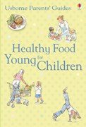 'Healthy food for young children' book cover