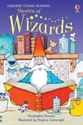 'Stories of wizards' book cover