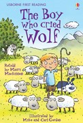 'The Boy Who Cried Wolf' book cover