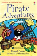 'Pirate adventures' book cover