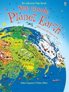 'See inside Planet Earth' book cover
