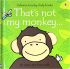 'That's not my monkey...' book cover