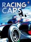 'Racing cars' book cover