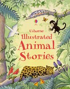'Illustrated animal stories' book cover