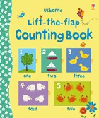 'Lift-the-flap counting book' book cover