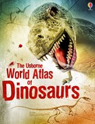 'World atlas of dinosaurs' book cover