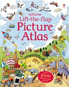'Lift-the-flap picture atlas' book cover