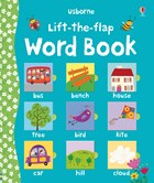 'Lift-the-flap word book' book cover