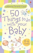 '50 things to do with your baby: 0-6 months' book cover