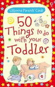 '50 things to do with your toddler' book cover