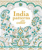 India patterns to color