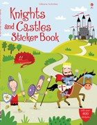 'Knights and castles sticker book' book cover