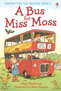 'A bus for Miss Moss' book cover