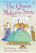 'The Queen makes a scene' book cover