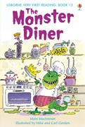 'The monster diner' book cover