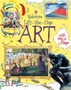 'Lift-the-flap art' book cover