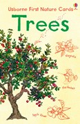 'Trees nature cards' book cover