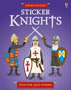 'Sticker Dressing Knights' book cover